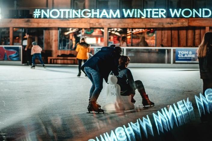 Winder Wonderland Nottingham Old Market Square